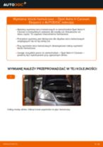Jak wymienić klocki hamulcowe przód w Opel Astra H Caravan - poradnik naprawy