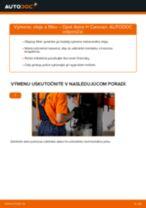 Online návod, ako svojpomocne vymeniť Olejový filter na aute OPEL ASTRA H Estate (L35)