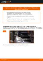 Ako vymeniť a regulovať Riadiaca tyč OPEL ASTRA: sprievodca pdf