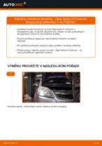Jak vyměnit přední brzdové destičky na Opel Astra H Caravan – návod k výměně