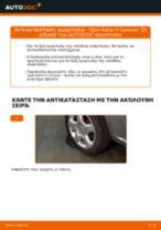 Πώς να αλλάξετε αμορτισέρ πίσω σε Opel Astra H Caravan - Οδηγίες αντικατάστασης