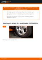 Kako zamenjati avtodel končnik stabilizatorja spredaj na avtu Opel Astra H Caravan – vodnik menjave