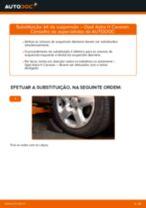 Mudar Amortecedores traseiro e dianteiro OPEL faça você mesmo - manual online pdf