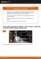 Cum să schimbați: discuri de frână din față la Opel Astra H Caravan   Ghid de înlocuire