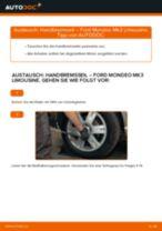 Ford Mondeo Mk4 Reparaturanweisung Schritt-für-Schritt
