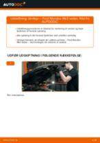 Udskift tårnleje for - Ford Mondeo Mk3 sedan | Brugeranvisning