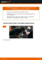 Udskift fjederben for - Ford Mondeo Mk3 sedan | Brugeranvisning