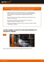 Cómo cambiar: discos de freno de la parte trasera - Opel Astra H Caravan | Guía de sustitución