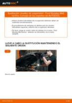 Cómo cambiar: muelles de suspensión de la parte delantera - Ford Mondeo Mk3 berlina | Guía de sustitución