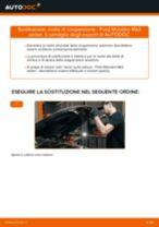 Cambio Molla sospensione autotelaio posteriore e anteriore FORD da soli - manuale online pdf
