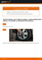 Come cambiare e regolare Filo freno a mano : guida gratuita pdf