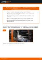 OPEL CALIBRA service manuals