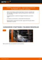 Slik bytter du bremseskiver bak på en Opel Astra H Caravan – veiledning