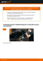 Poradnik online na temat tego, jak wymienić Drążek wspornik stabilizator w Mazda 323 P BA