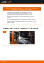 Ako vymeniť vľavo a vpravo Zadné svetlo na Opel Astra h l48 - manuály online