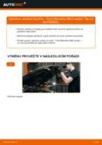 Jak vyměnit přední uložení tlumiče na Ford Mondeo Mk3 sedan – návod k výměně