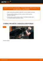 Jak vyměnit přední pružiny podvozku na Ford Mondeo Mk3 sedan – návod k výměně