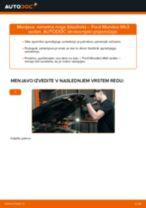 Zamenjavo Blazilnik FORD MONDEO: navodila za uporabo