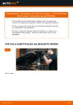 Tutorial passo a passo em PDF sobre a substituição de Tirante da Barra Estabilizadora no Range Rover Velar L560