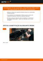 Instalação Medidor de fluxo de ar FORD MONDEO III Saloon (B4Y) - tutorial passo-a-passo