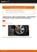 Como mudar e ajustar Cabo de freio de estacionamento : guia pdf gratuito