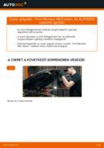 Hogyan cseréje és állítsuk be Gólyaláb FORD MONDEO: pdf útmutató