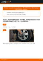 Kā nomainīt un noregulēt Rokas Bremzes Trose: bezmaksas pdf ceļvedis