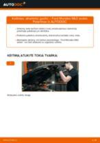 Kaip pakeisti Ford Mondeo Mk3 sedan atraminio guolio: priekis - keitimo instrukcija