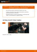 Kaip pakeisti Ford Mondeo Mk3 sedan pakabos statramstis: priekis - keitimo instrukcija
