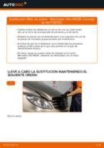 Cómo cambiar: filtro de polen - Mercedes Vito W639 | Guía de sustitución