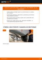Ako vymeniť filter vnútorného priestoru na Mercedes Vito W639 – návod na výmenu