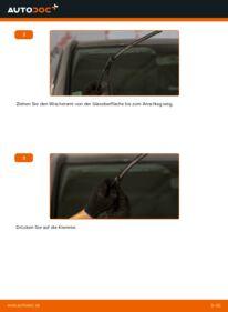 Wie der Wechsel durchführt wird: Scheibenwischer 115 CDI 2.2 Mercedes Vito W639 tauschen