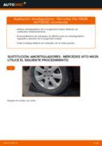 Cómo cambiar: amortiguadores de la parte trasera - Mercedes Vito W639 | Guía de sustitución
