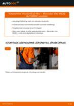 MERCEDES-BENZ Õlifilter vahetamine DIY - online käsiraamatute pdf