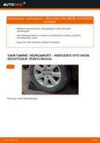 MERCEDES-BENZ tagumine ja eesmine Amort vahetamine DIY - online käsiraamatute pdf