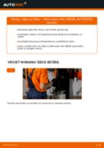 Eļļas filtrs maiņa: pdf instrukcijas MERCEDES-BENZ VITO