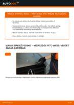 Automehāniķu ieteikumi MERCEDES-BENZ Mercedes Vito W639 113 CDI 2.2 Eļļas filtrs nomaiņai