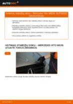 Kaip pakeisti gale ir priekyje Amortizatoriaus atrama LANCIA VOYAGER - instrukcijos internetinės