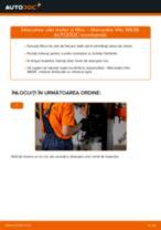 Instrucțiunile online gratuite cum să reparatii Filtru ulei MERCEDES-BENZ VITO Bus (W639)