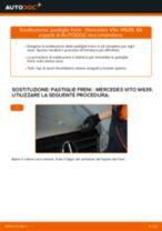 Montaggio Kit riparazione pinza freno MERCEDES-BENZ VITO Bus (W639) - video gratuito