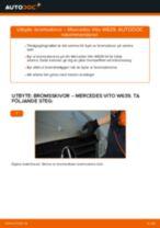 Byta bromsskivor bak på Mercedes Vito W639 – utbytesguide