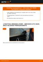 Instruksjonsbok MERCEDES-BENZ VIANO
