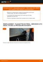 Notre guide PDF gratuit vous aidera à résoudre vos problèmes de MERCEDES-BENZ Mercedes Vito W639 113 CDI 2.2 Essuie-Glaces