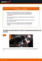 Wie Bremsscheibe FORD MONDEO wechseln und einstellen: PDF-Leitfaden