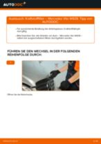 Reparatur- und Wartungshandbuch für Mercedes Vito W638