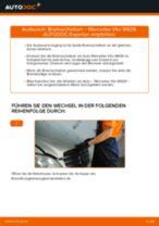 Wie Bremsscheibe MERCEDES-BENZ VITO wechseln und einstellen: PDF-Leitfaden