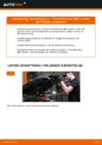 Udskift bremseskiver bag - Ford Mondeo Mk3 sedan | Brugeranvisning