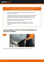 Cómo cambiar: discos de freno de la parte delantera - Mercedes Vito W639 | Guía de sustitución