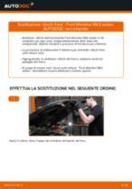Cambio Set dischi freni posteriore e anteriore FORD da soli - manuale online pdf