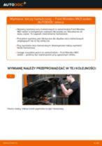 Wymiana Zestaw naprawczy, przegub nożny / prowadzący FORD MONDEO: instrukcja napraw